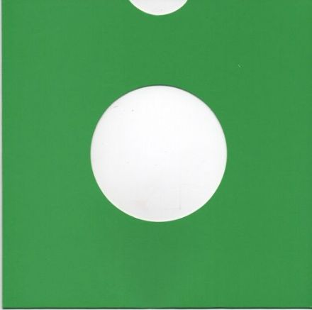 "7"" Card Sleeve 10 Pack - Green"